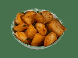 Patate con harissa