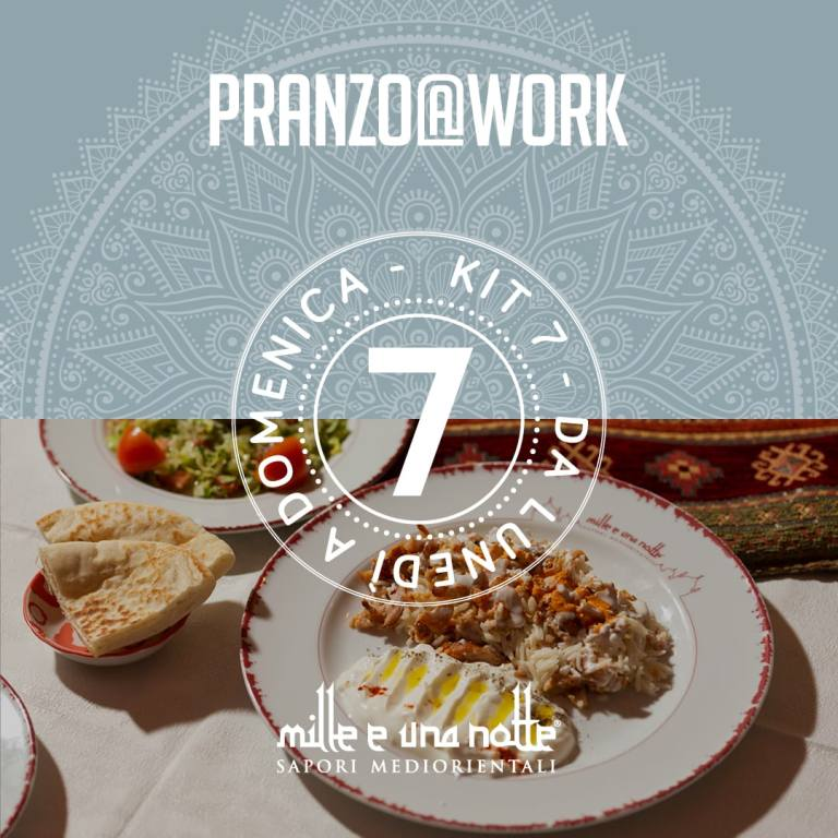 pranzo@work 7 giorni