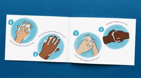The Handy Hand Washing Handbook Spread 3 Instructions Image Forsites