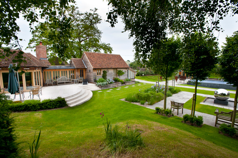 Farmhouse Garden | Millhouse Landscapes on Farmhouse Backyard Landscaping id=21707