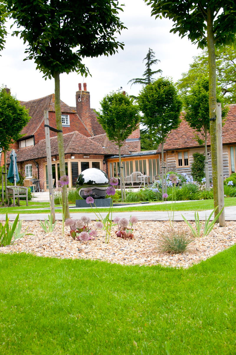 Farmhouse Garden | Millhouse Landscapes on Farmhouse Backyard Landscaping id=27471