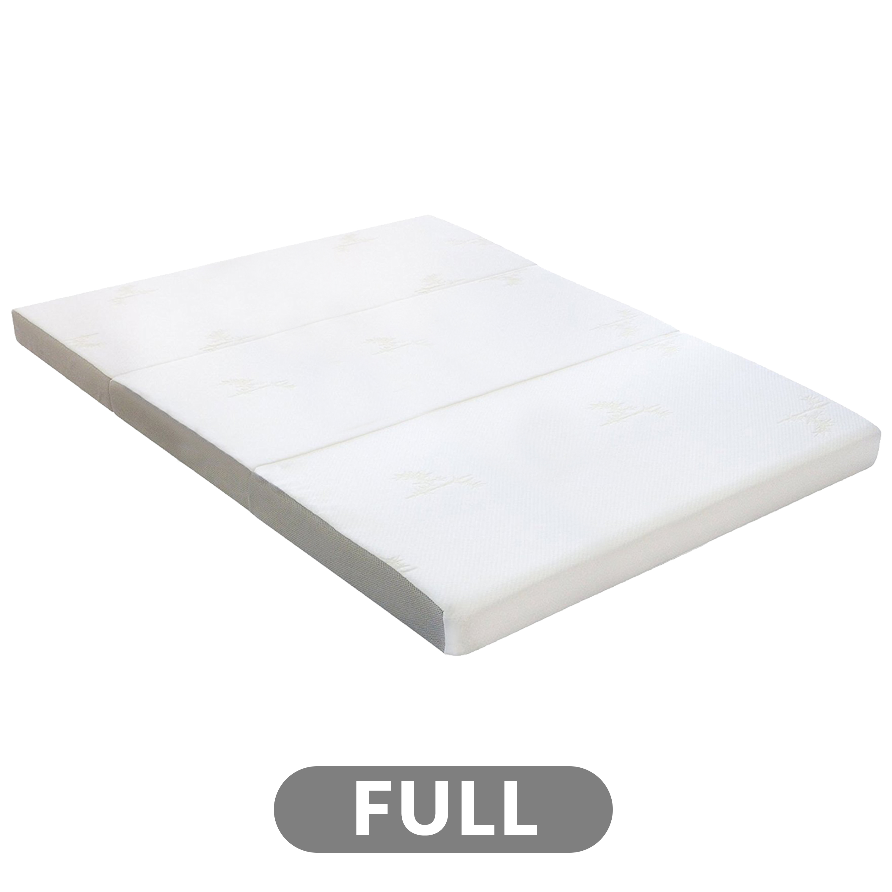 4 Tri Fold Foam Mattress With Cover Full Milliard Bedding The Ultimate Sleep Experience