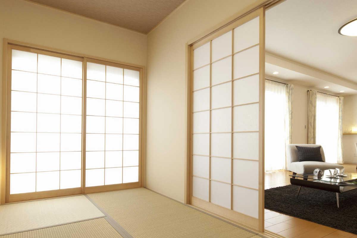 panneau japonais et cloisons shoji