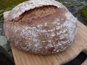 freshly milled hen gyro wholemeal loaf