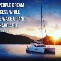 Some people dream of success while others wake up and work hard at it. - Winston Churchill