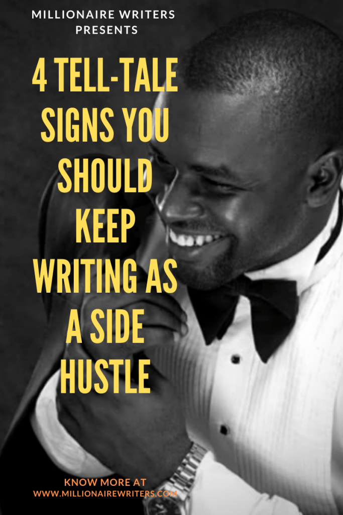 writing as a side hustle