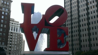 Love Sculpture - Philly