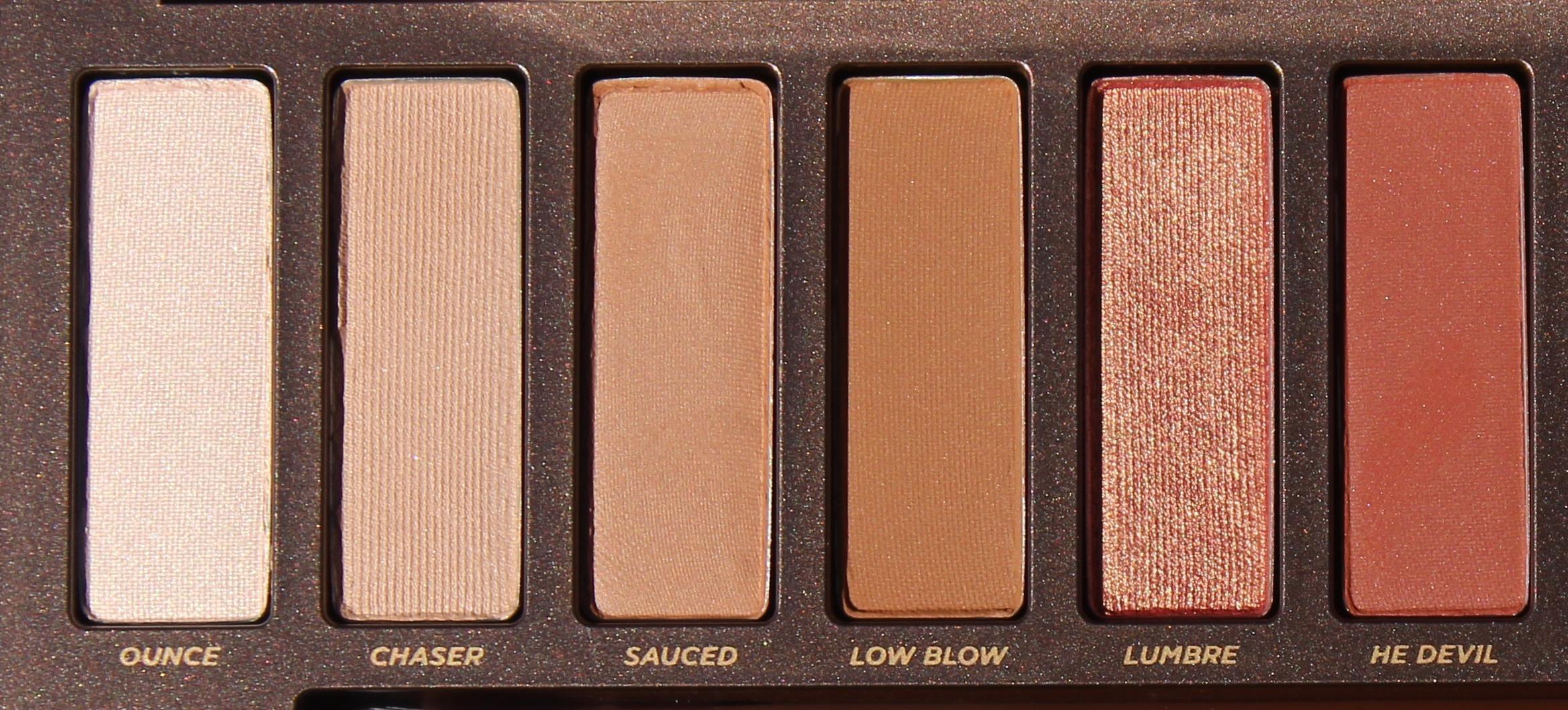 Urban Deycay Cosmetics Naked Heat Palette  Million Idole-8641