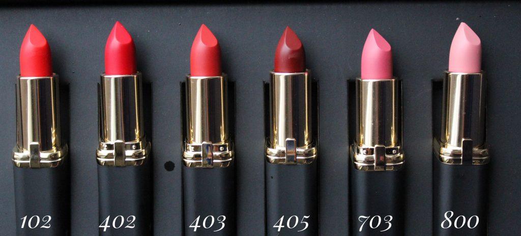 Collection Lipstick Loreal Matte