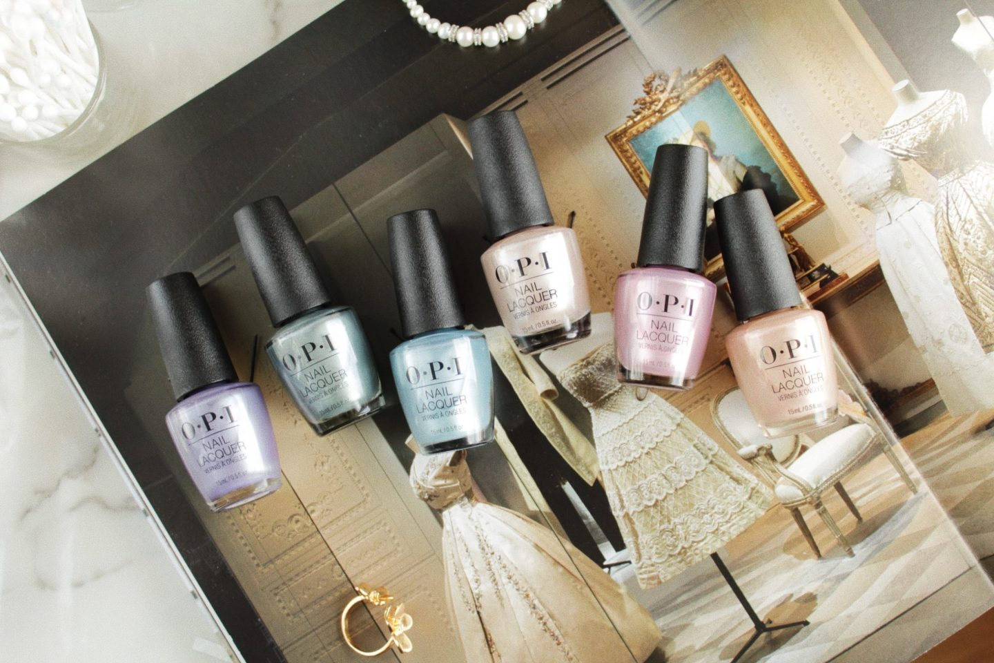 OPI   Neo-Pearl Nail Lacquer Limited Edition Collection 2020