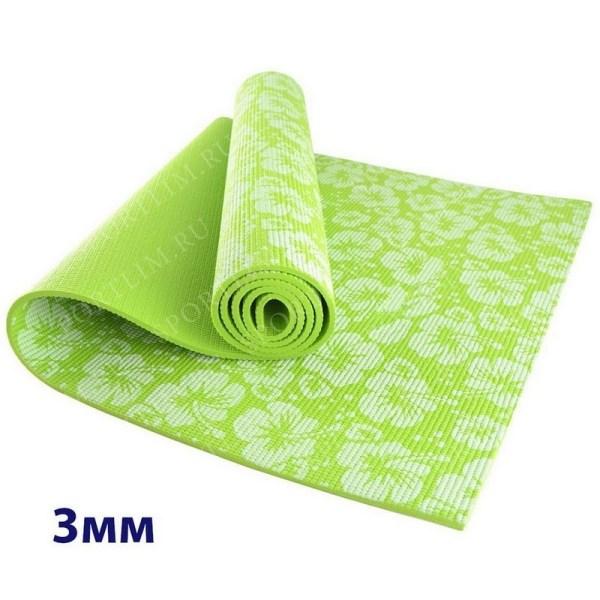 Коврик для йоги Размер:173*61*0.3 см Цвет:Зеленый ...