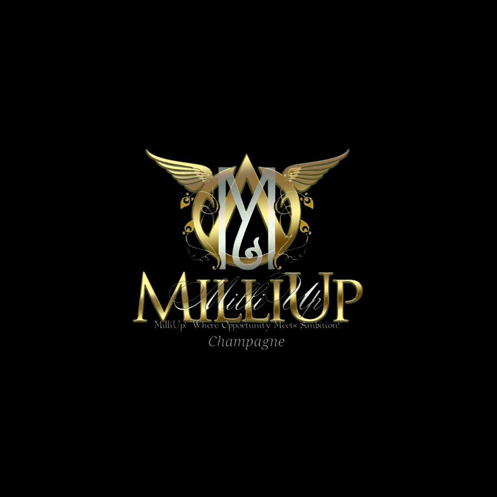 MilliUp Champagne logo3