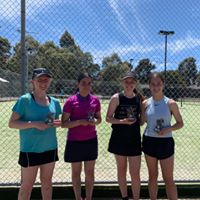 Mill Park Tennis Club   Club Champs Doubles A Grade Womens
