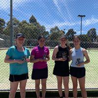 Mill Park Tennis Club | Club Champs Doubles A Grade Womens