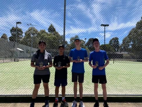 Mill Park Tennis Club | Club Champs Doubles B Grade Mens 2019