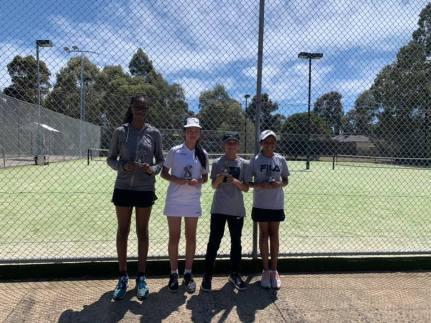 Mill Park Tennis Club | Club Champs Doubles B Grade Womens 2019