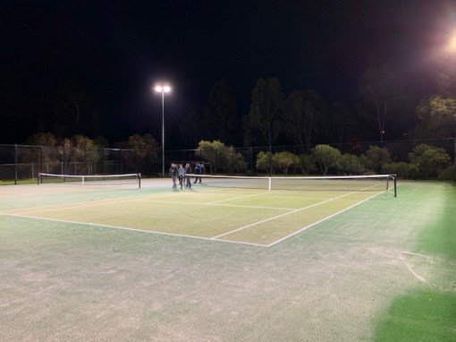 Mill Park Tennis Club   New Courts 2019