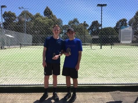 Mill Park Tennis Club   Club Champs Singles A Grade Mens 2019