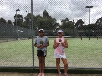 Mill Park Tennis Club   Club Champs Singles B Grade Womens 2019