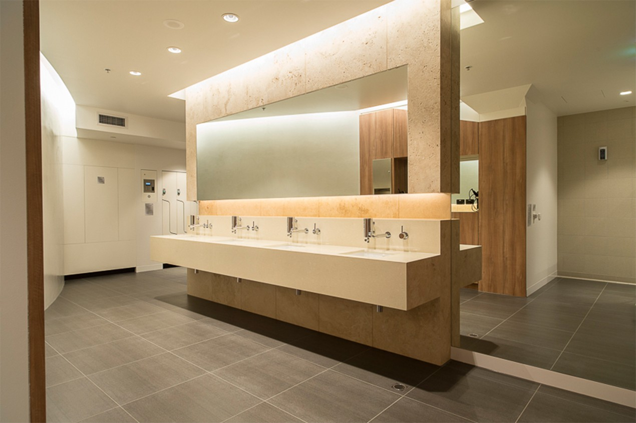 Collins Place Cyclist Amenities Mills Gorman Architects
