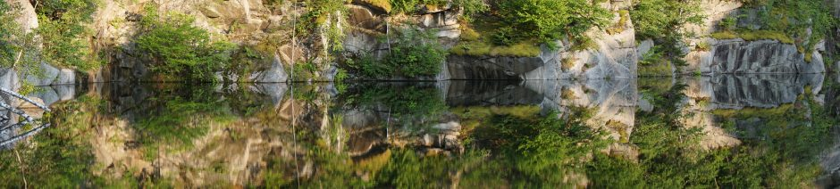 "Honorable Mention - Samantha Ryan ""Quarry #6 Panorama"""