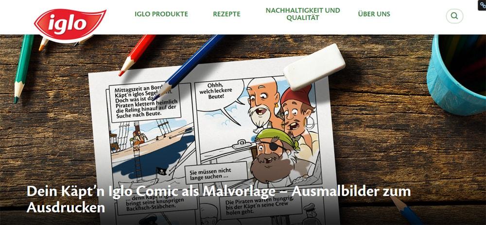 Käpt´n iglo Comics
