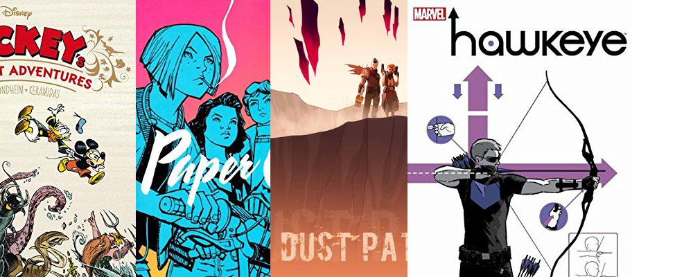 Top 5 Comics des Monats