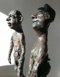 LE COUPLE DEGINGANDE / bronze 3/8 / (49 x 31 x 20 cm) / 4000€ (le couple)