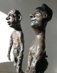 LE COUPLE DEGINGANDE / bronze 3/8 / (49 x 31 x 20 cm)