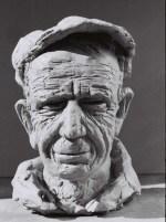 Sculpture en bronze. Paysan. Ouvrier. Travailleur.