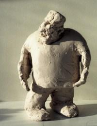 QU'EST-CE QU'ELLE A MA GUEULE ? / bronze sur commande / (24 x 17 x 16 cm)