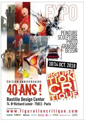 Exposition du Salon de Figuration Critique en 2018
