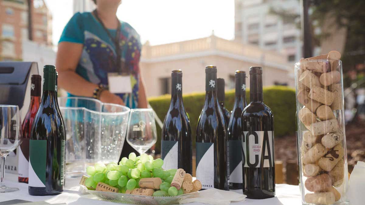 botellas de vino de Alicante