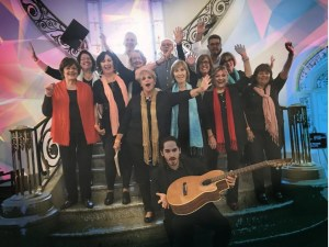 Coro de la Casona de Punta Carretas dirigido por Camilo Milo Lagomarsino