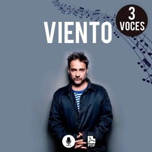 partituras para coro modernas de Vicentico a 3 voces en pdf gratis para descargar por Milo Lagomarsino