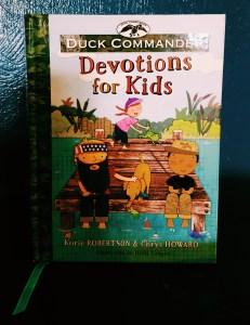 Devotional time to kids