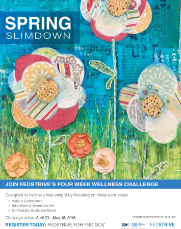 Spring Slimdown Poster featuring Elizabeth's artwork