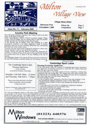 VV Issue 71 Feb 2006