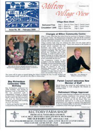 VV Issue 86 Feb 2009