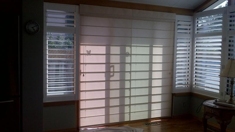 patio door blinds window covering