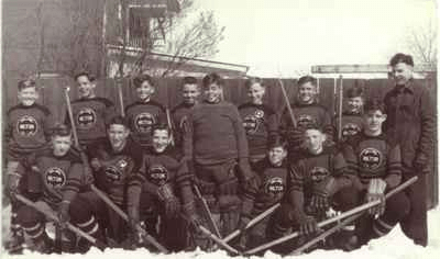 1940s Hockey Team