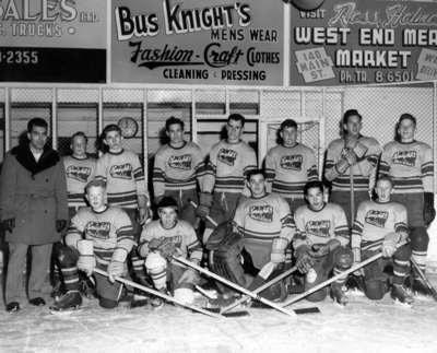 1956 Hockey Team