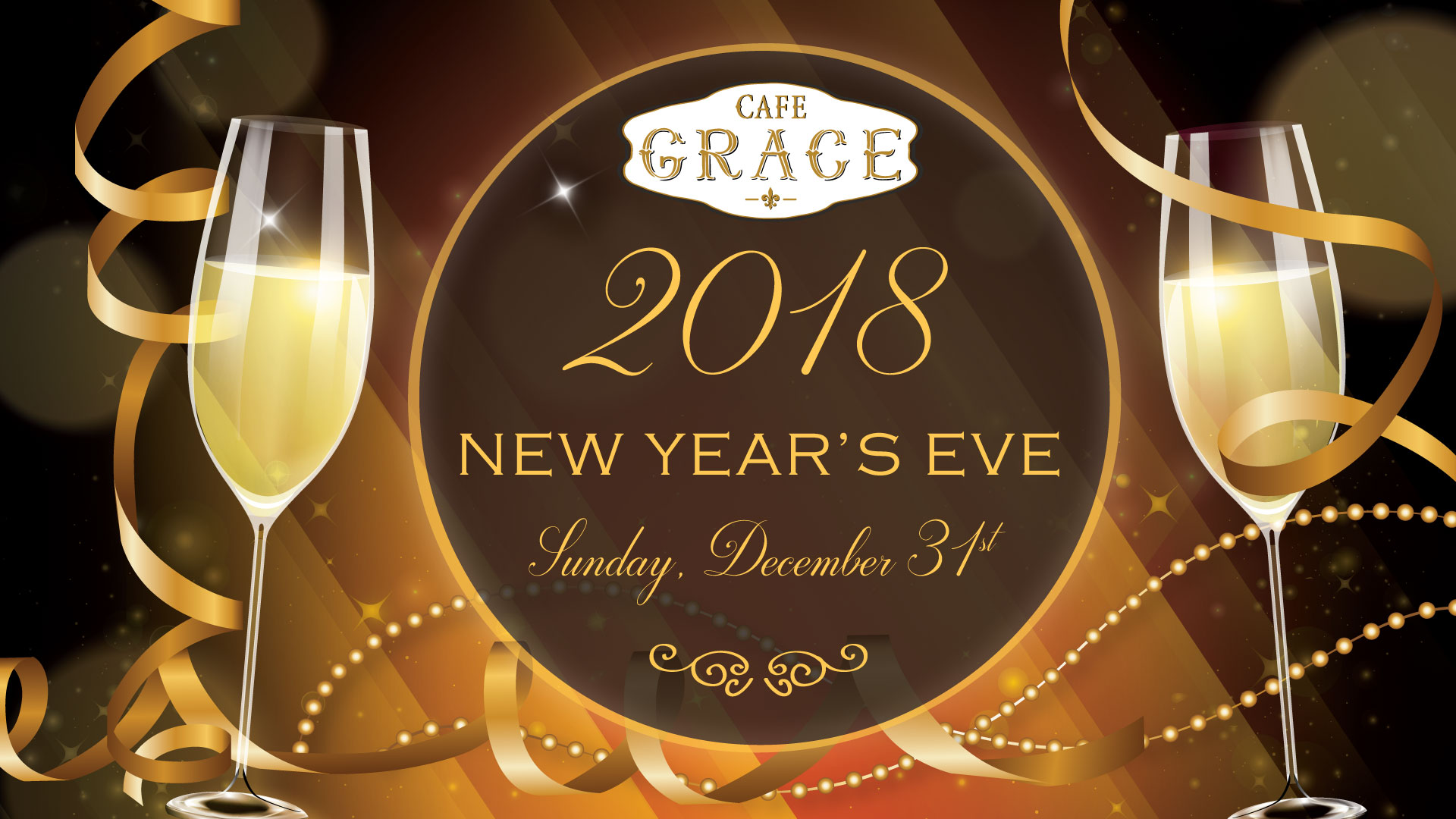 New Years Eve At Cafe Grace