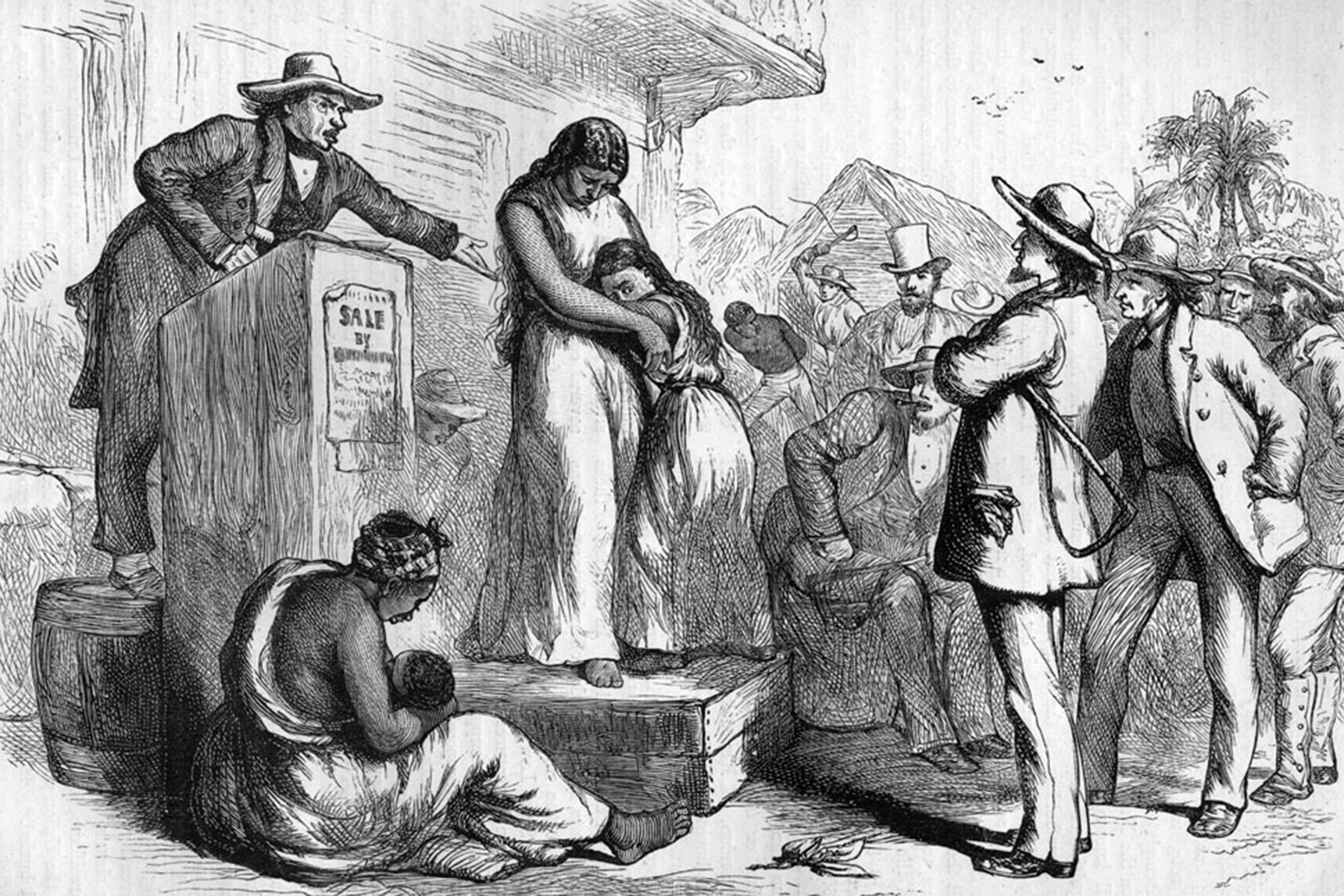 America S Legacy Of Slavery Seen In Trump Policy