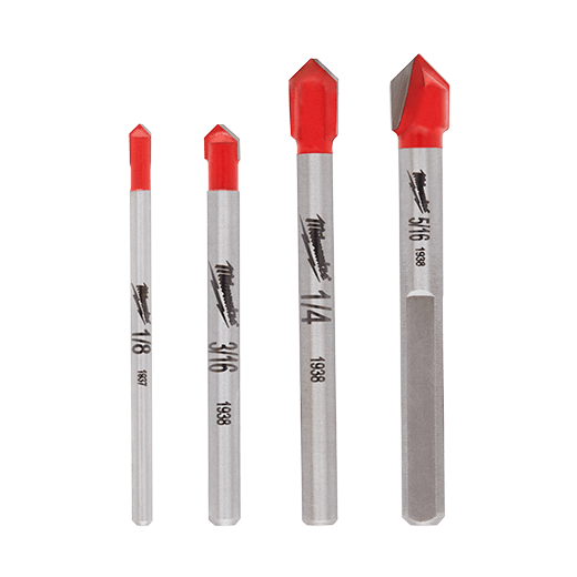 glass and tile drill bits milwaukee tool