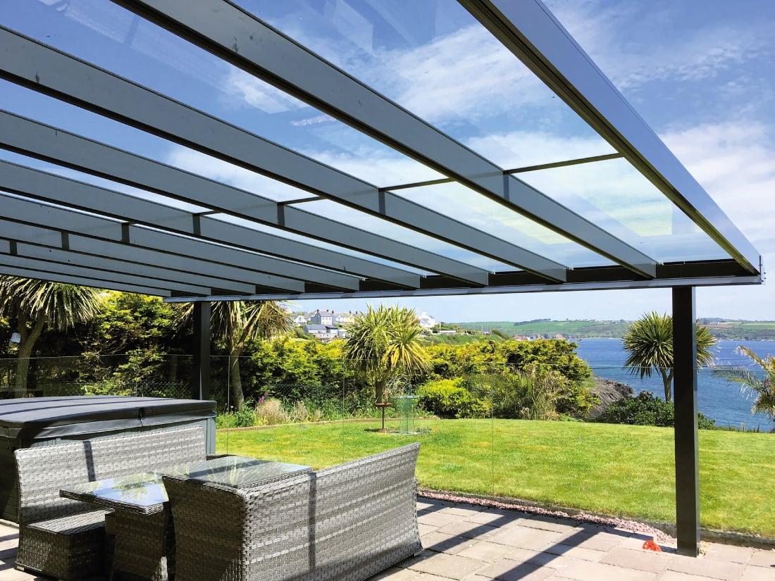 veranda kits glass aluminium