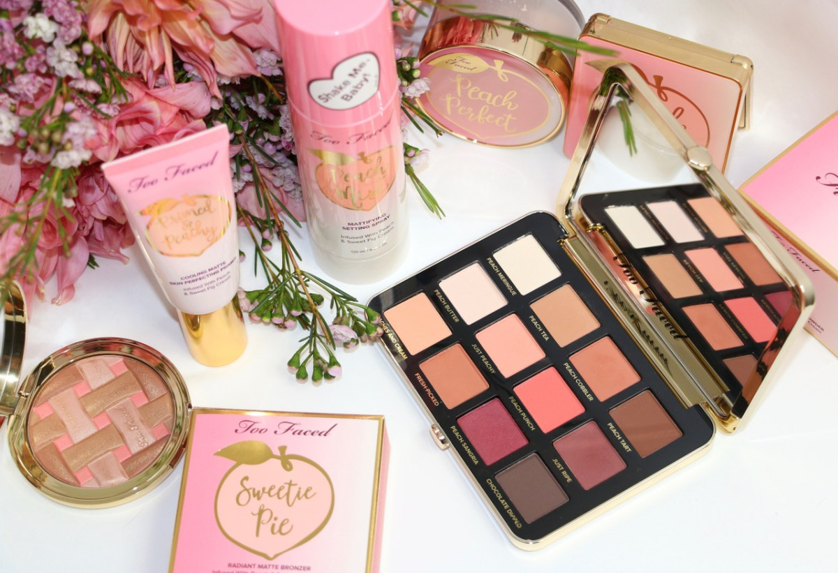 "La collection ""Peaches & Cream"" de Too Faced ! (revue et swatches)"