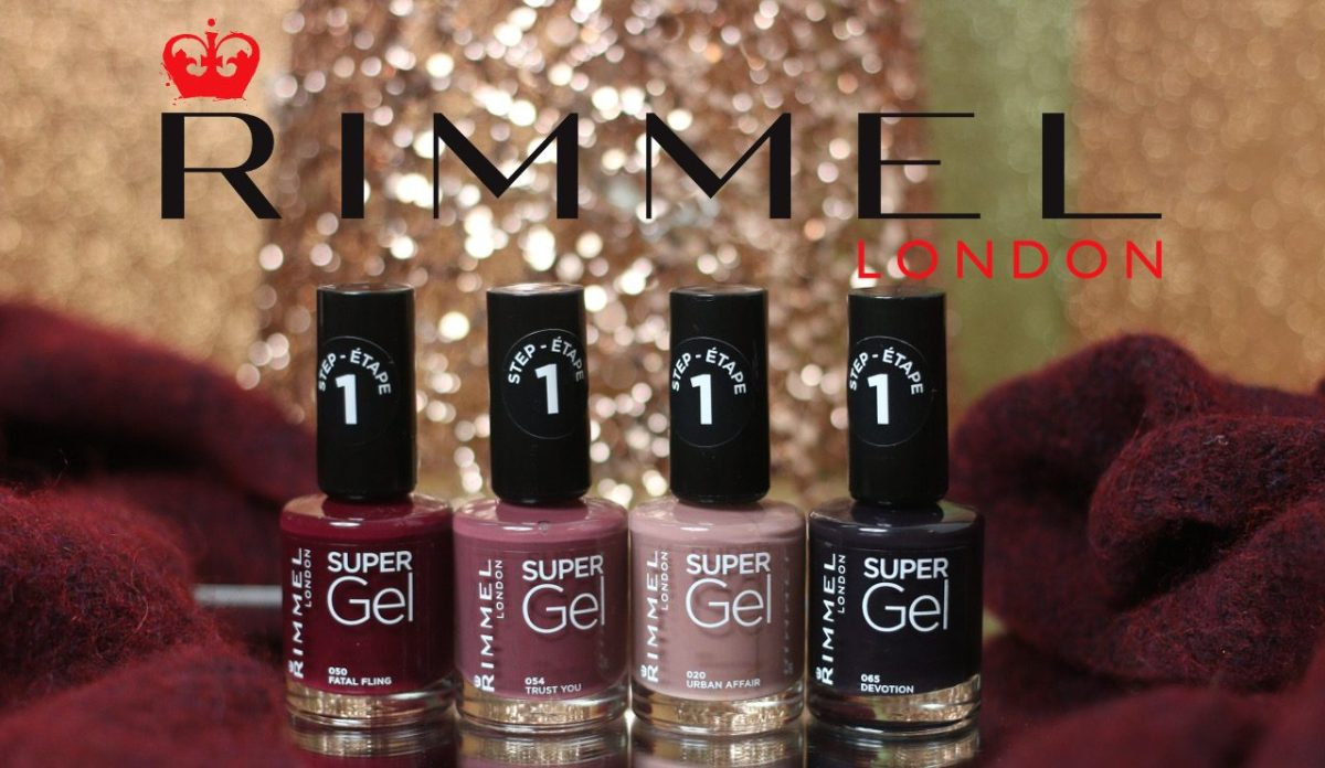 "Urban Affair: la nouvelle collection de vernis ""Super Gel"" de Rimmel !"