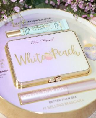 La palette «White Peach» de Too Faced !