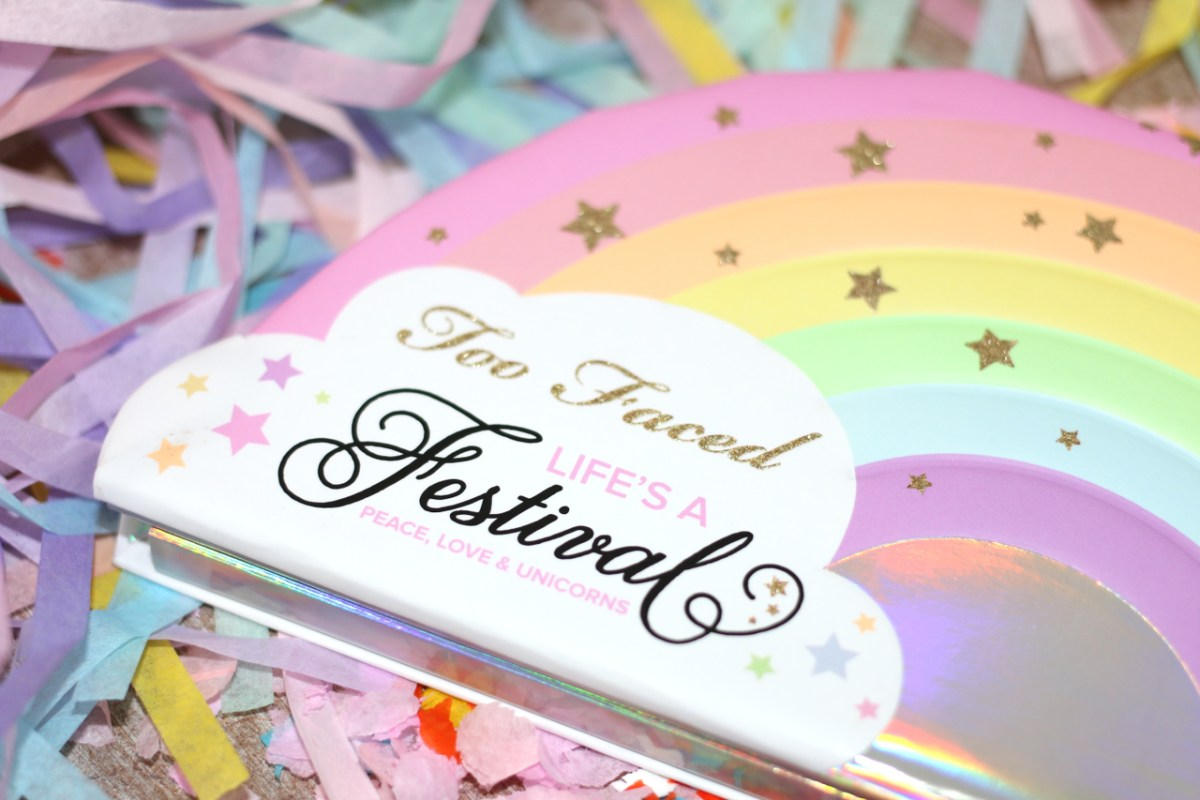 "La palette ""Life's a Festival"" de Too Faced !"